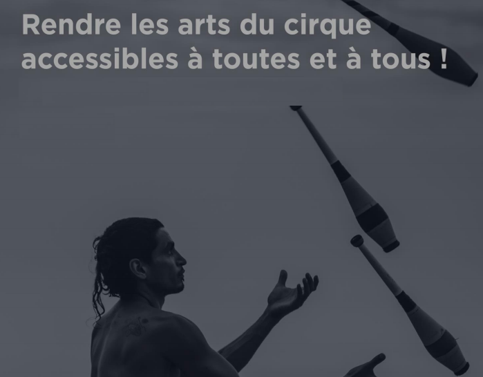 Encouraging support for the dissemination of circus arts