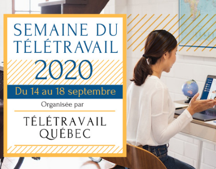 Teleworking Week starts today in Quebec